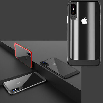 iPhone X Case, Clear Transparent Acrylic Protective Back Cover Case For iPhone X