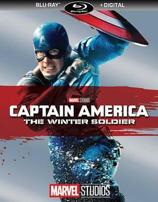 Captain America: The Winter Soldier New Blu-Ray Disc