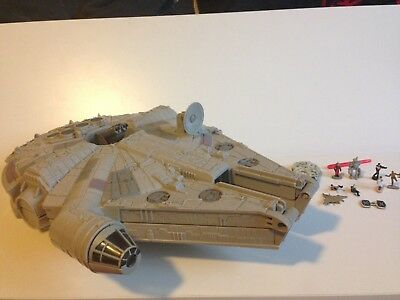 Genuine Vintage Micro Machines - Huge Star Wars Millenium Falcon Play Set