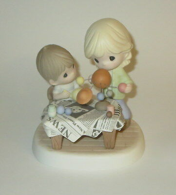 You Mean The World To Me Precious Moments Figurine Mom Son Planets Science NWOB