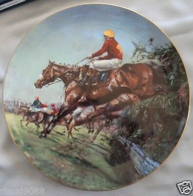 "Coalport England ""1974 Grand National The Spirit Of The Turf Ltd Edition Cp2112"