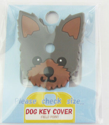 Dog Key Cover - Yorkshire Terrier Approx 4cm x 3cm