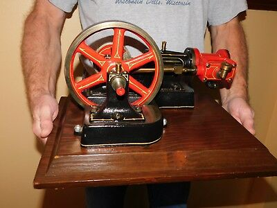 Antique Popcorn Live Steam Engine