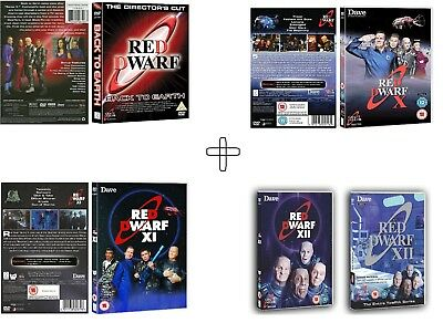 Red Dwarf (2009-2017): New Series + Back To Earth 9 + X 10 + Xi 11 + Xii 12  Dvd