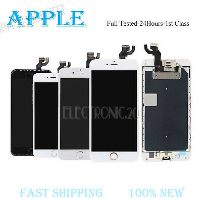 For iPhone 5 5S 6 Plus LCD Touch Screen Digitizer Replacement & Home Button