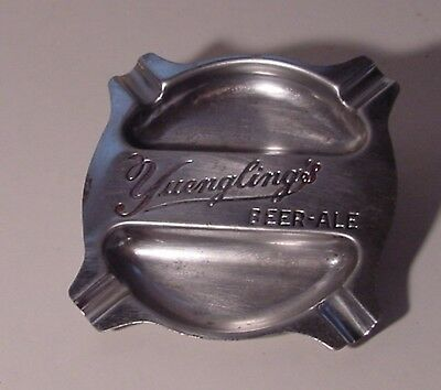 Yuengking's Beer - Ale Stamped Steel Ashtray Pottsville Pennsylvania Brewery