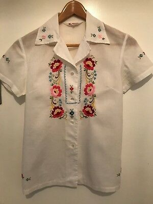 Vintage embroided blouse
