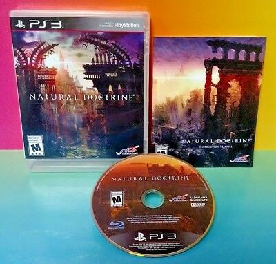 Natural Doctrine - PS3 Sony Playstation 3 Rare Complete GAME NIS America