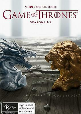 Game Of Thrones: Seasons 1 - 7 Boxset - DVD Region 4 Free Shipping!