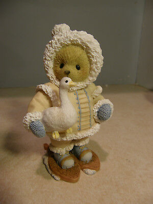 Cherished Teddies TAKODA ESKIMO KISSES ARE JUST A SNOWFALL AWAY  NEW  FREE SHIP