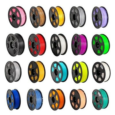 330m/1082ft 3D Printer Filament ABS PLA 1.75mm 1kg/2.2lb/Roll Glow in Dark Print