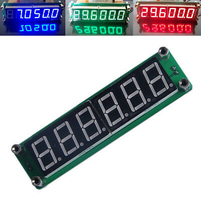 1MHz-1000MHz 6LED RF Signal Frequency Counter Cymometer Tester Meter 3 Color