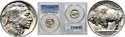 1936 Buffalo Nickel PCGS MS-66