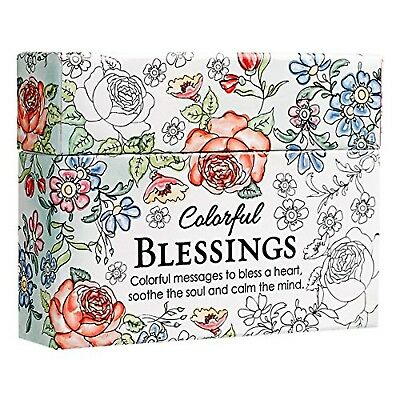 Colorful Blessings: Cards to Color and Share   by Christian(Hardcover)