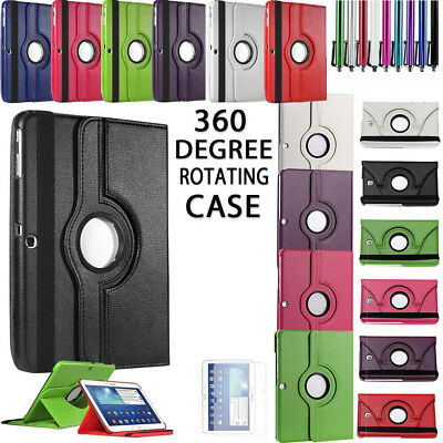 360 Degree Rotation Stand Tablets Case Cover Fit For All Samsung Galaxy Models