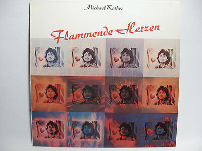 "Michael Rother - Flammende Herzen - 12"" Vinyl LP - 1977"