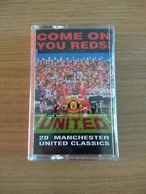 Come on you Reds Manchester United Audio Cassette