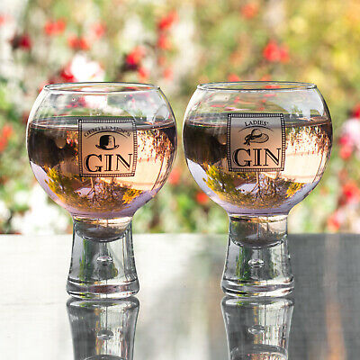 54cl Ladies & Gentlemens Couples Gin Balloons Glasses Tonic Cocktail Tumblers