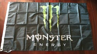 Monster Energy Promo Banner / Flag. US seller. Free shipping within the US!!!