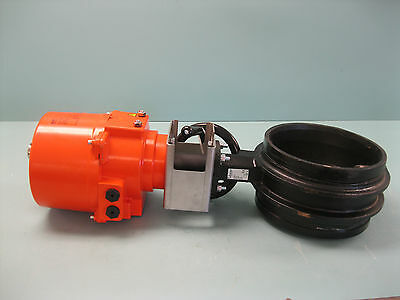 """10"""" Victaulic V100761SE0 300MS Masterseal Actuated Butterfly Valve NEW P4 (2216)"""
