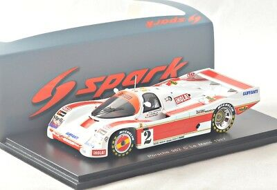 NEW 1/43 Spark S5509 Porsche 962 C, 24hrs LeMans 1987, #2
