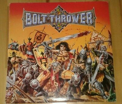 Bolt Thrower - War Master LP Mosh 29 Earache 1991 Death Metal
