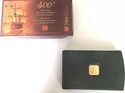 2004, 400th Anniversary 1st French Settlement, Canada Proof Set, RCM, OGP, Proof