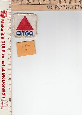 1 Vintage /aged / never applied Citgo Patch 2-1/2 x 2-1/2 in