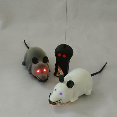 Remote Control RC Rat Mouse Wireless For Cat Dog Pet Funny Toy Novelty Gift #T1K
