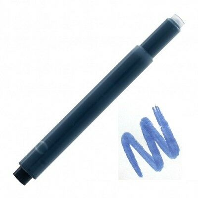 20 - Fountain Pen Refill Ink Cartridges for Lamy Pens, Blue Black, IFT Treated