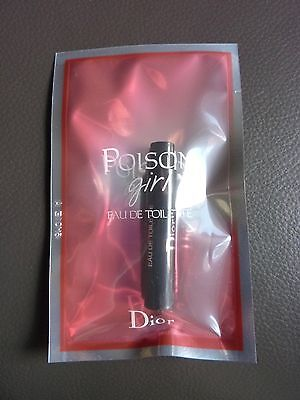 POISON GIRL   DIOR  1 ml Eau de Toilette  vaporisateur natural spray  foliiert