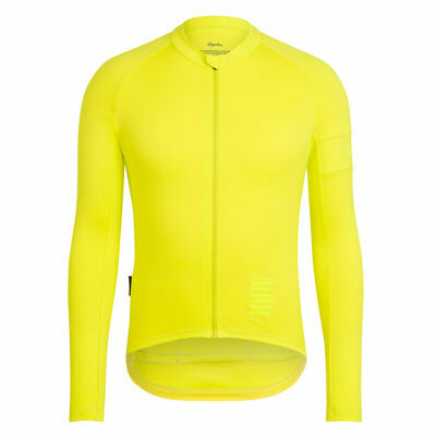 Rapha Chartreuse Long Sleeve Pro Team Training Jersey. Size Small. BNWT.
