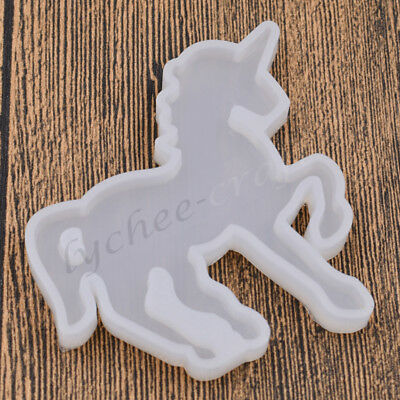 Silicone Unicorn Mold Animal Horse Mould DIY Crafts Making Jewelry Accessories