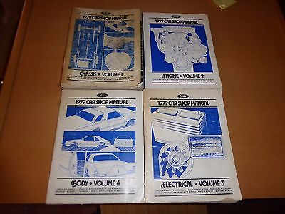 Service Manuals Ford 1979 - Manuali d'officina