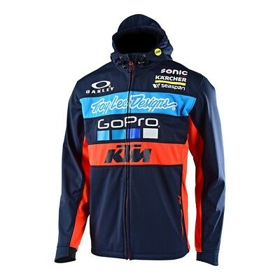 Troy Lee Designs 2017 KTM Team Mens Pit Jacket Navy