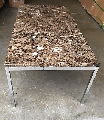 Florence Knoll Marble Coffee Table Mid Century Modern Almost Perfect Condition
