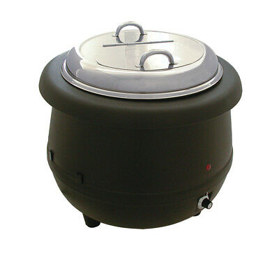 Update International 10 Qt Electric Soup Warmer