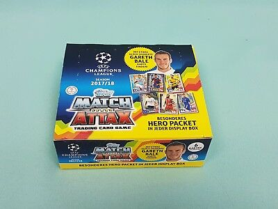 Topps Match Attax Champions League  2017/2018 1 x Display / 24 Booster 17/18