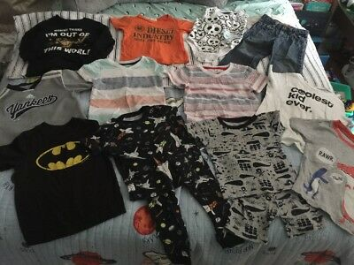 Mixed Lot Of 13 Toddler Boy 2t Clothing Fall Summer Spring