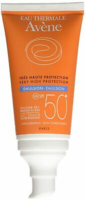 2 x 50ml EAU THERMALE AVENE VERY HIGH PROTECTION EMULSION SPF 50+