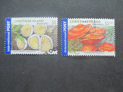No-4-2001 CHRISTMAS   ISLAND    ISSUES  2   STAMPS   -HIGH  VALUES  -USED