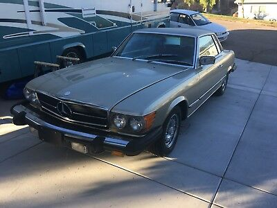 1980 Mercedes Benz 450 SLC/