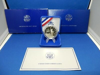 1986 Statue of Liberty Commemorative Proof Silver Dollar Coin