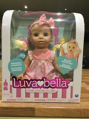 Luvabella doll blonde.  Brand new in box.  Unopened.  All original seals intact.