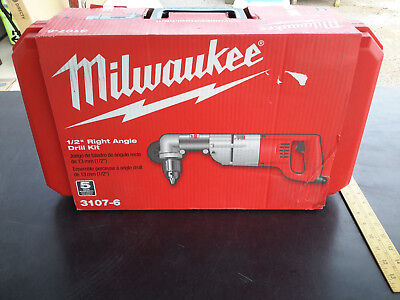 Milwaukee 3107-6 7.0 Amp 1/2-Inch Right Angle Drill with D-Handle Heavy Duty