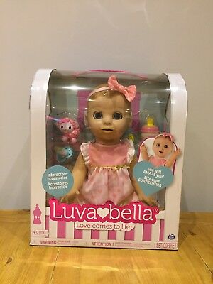 Luvabella Blonde Doll - BRAND NEW in box