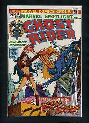 Marvel Spotlight (V1) #11 VF/NM 1973 Marvel Ghost Rider Comic Book
