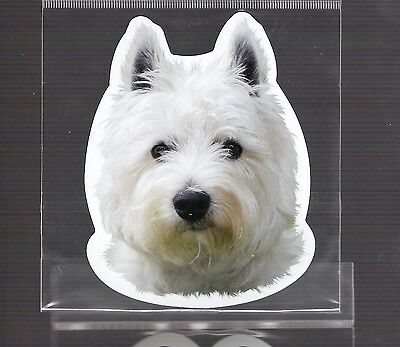Westie 4 inch face magnet for car or anything metal     New