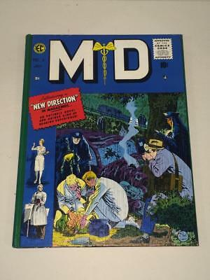 MD EC Comics reprint hardcover 1988 black and white VF