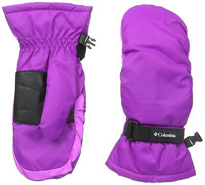 COLUMBIA Youth Y Core Mitten Gloves PLUM PURPLE Small S NEW